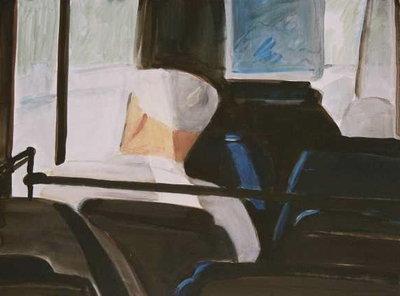 """o.T. (aus der Serie """"Busbilder"""")"""