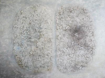 grosses Hirngespinst, 150x170 cm