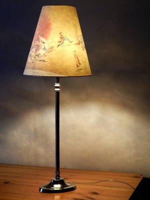 Lampe eingeschaltet, ein Bild erscheint!